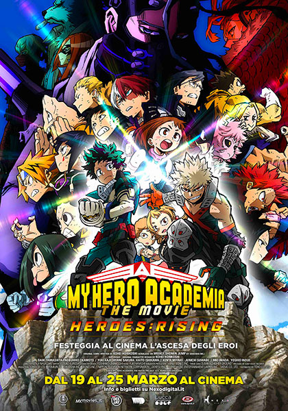My Hero Academia the Movie 2 The Heroes Rising